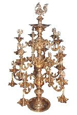 Brass Ornamental  Lamp