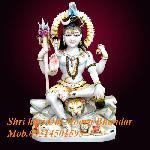 Marble Shivji Statue