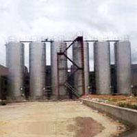 Stainless Steel Milk Storage Silos