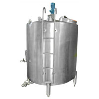 Stainless Steel Milk Storage Tanks