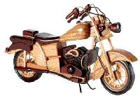 Wooden Motorcycle