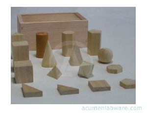 Geometrical Models Wooden