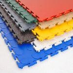 Pvc Industrial Interlocking Mat, Pvc Industrial..