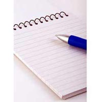 Ruled Paper for Copy