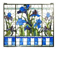 Tiffany Stained Glass Panels