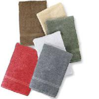 Solid Colored Terry Glove, Soap Towel