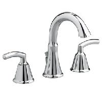 Double Lever Handle 3-hole Widespread Lavatory Faucet