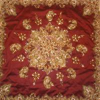 Embroidered Table Cover (dztb 01)