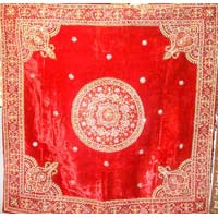 Embroidered Table Cover (dztb 018)