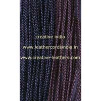 3.0mm 3 Ply Leather Braided Cords