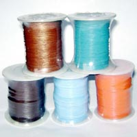20 meters of Cobalt Blue Waxed Cotton Cord 1.5mm C0005
