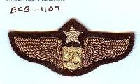 Military Wire Badges