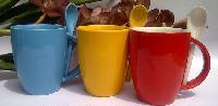 Designer Spoon Promotional Coffee Mug