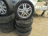 Used And New Tyres, Alloy Wheel Also