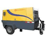 Diesel Portable Screw Air Compressor