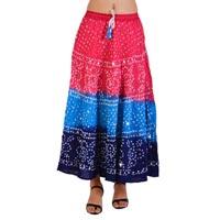 Bandhini Bandhej Skirts