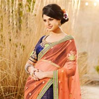 Exclusive Stylish Wedding Lehenga Saree