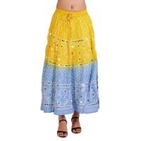 Girls Cotton Bandhani Indian Skirt