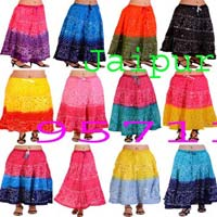 Jaipuri Bandhej Skirts