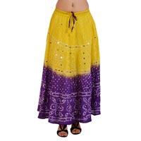 Latest Girls Bandhej Skirt