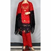 Traditional Bandhej Salwar Suit
