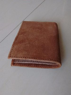 Vintage Leather Bifold Card Holder Cum Wallet