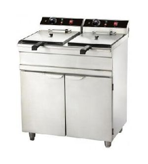 Double Deep Fat Fryer With Oven