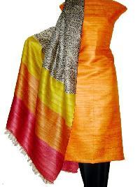 Tussar Silk Dress Materials