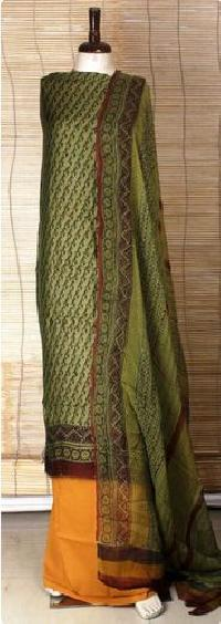 unstitched silk pashmina suit