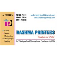 Visiting cards in coimbatore manufacturers and suppliers india visiting cards colourmoves