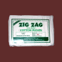 Zig Zag Packing Absorbent Cotton