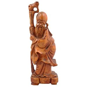 Wooden Decorative Figures