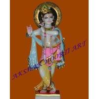 Marble Murti Lord Krishna Statue Marble