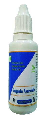 Hawaiian Herbal Guggulu Ayurvedic Drops