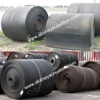 Used Nylon Rubber Conveyor Belt