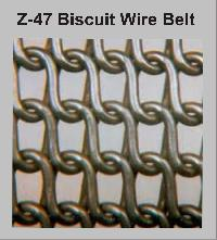 Wire Biscuit Baking Oven Belt