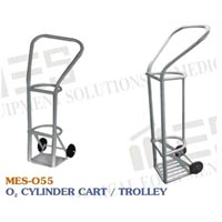 Mes Oxygen Cylinder Trolley