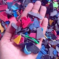 Mixed Color Plastic Scrap