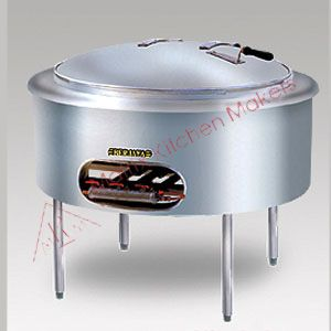 Gas Stainless Steel Kwali Cooker