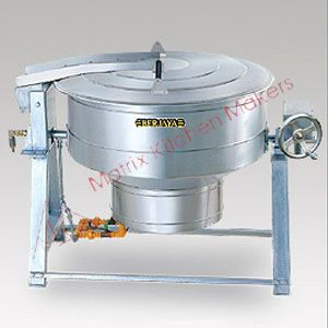 Gas Stainless Steel Tilting Kettle