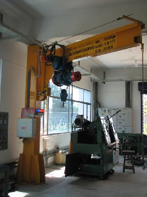 Wall/self supported Jib Cranes
