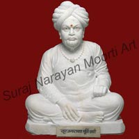 White Marble Bust Statues