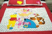 Mardi Gras Cotton Fabric - Patch Work Design