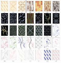 Luster Ivory & Black Printed Series Tiles