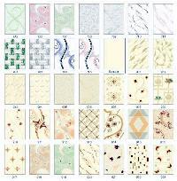 Luster White & Ivory Printed Series Tiles