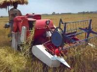 small combine harvester