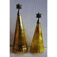 Decorative Glass Christmas Tree