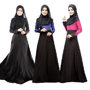 Muslim Burka Gowns