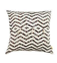 Horizontal Diamond Ikat Cushion