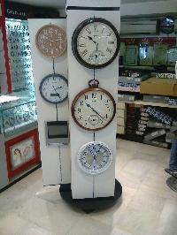 Revolving Clock Display Stands